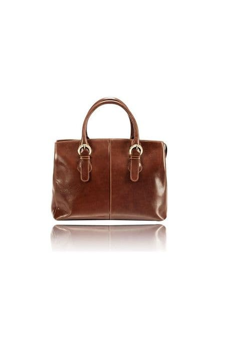 Brown Leather Bag For Womens